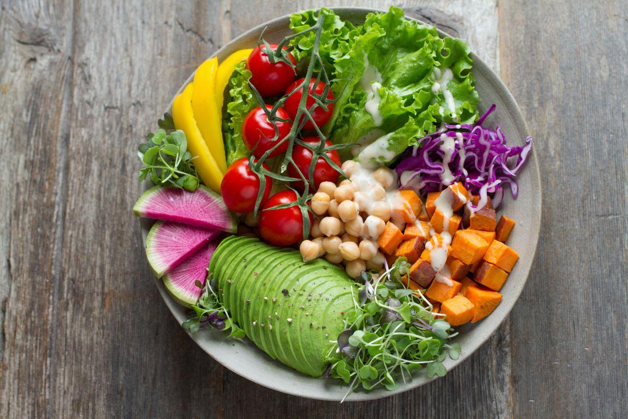 Plastic free healthy food