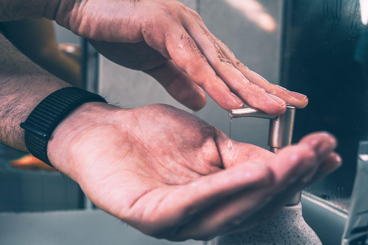 Plastic-free hand washing