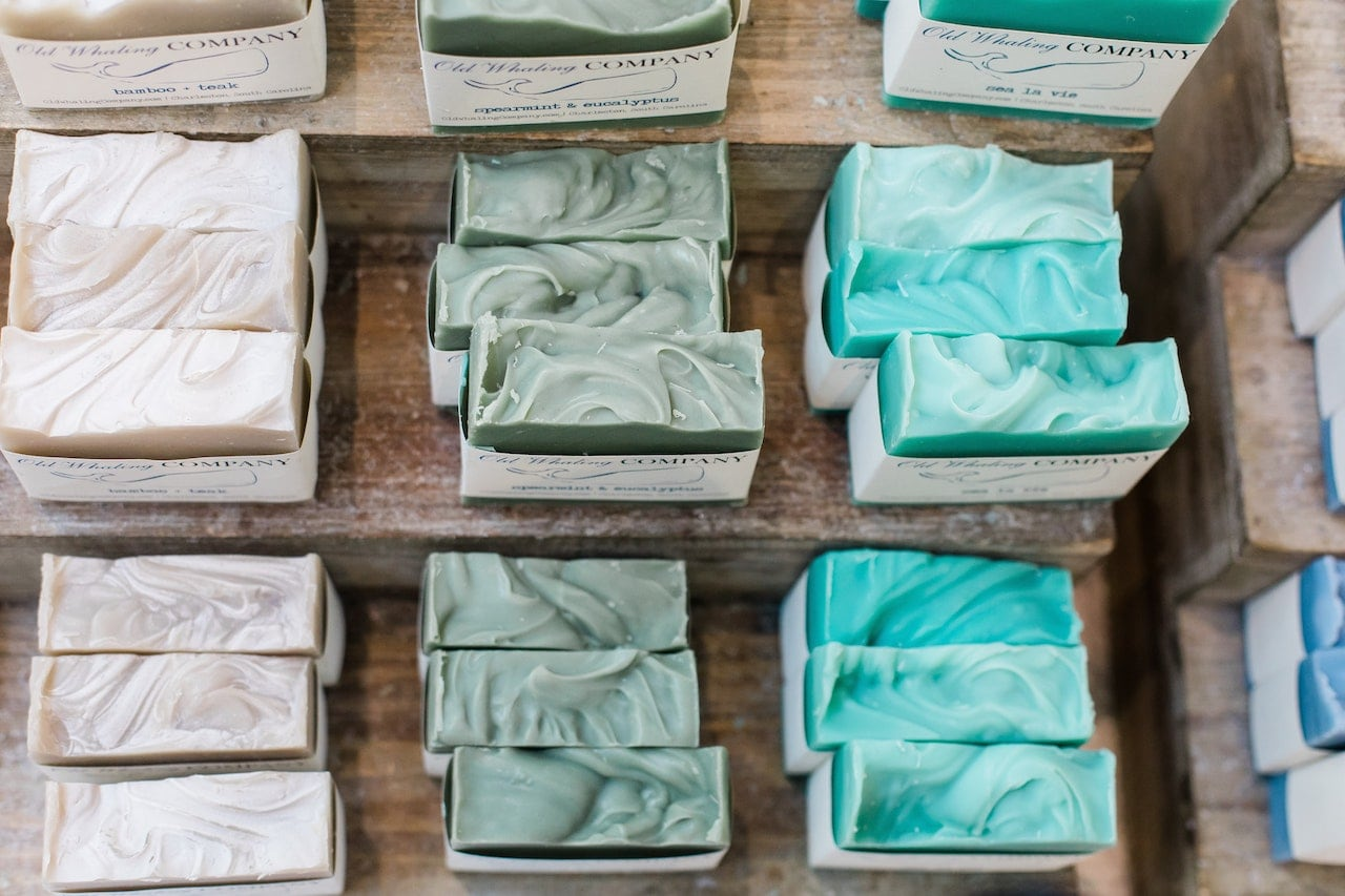 Eco-friendly soaps