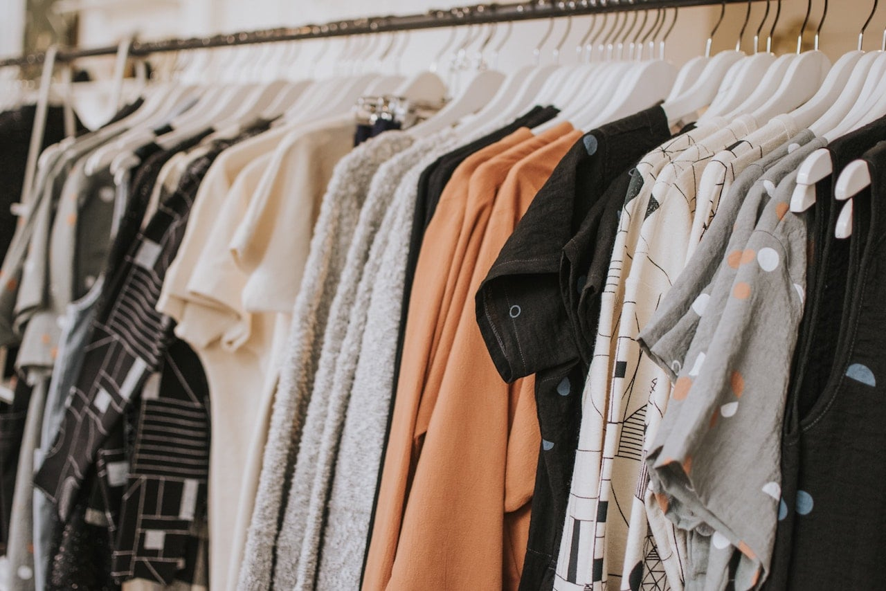 Fashion shirts in store