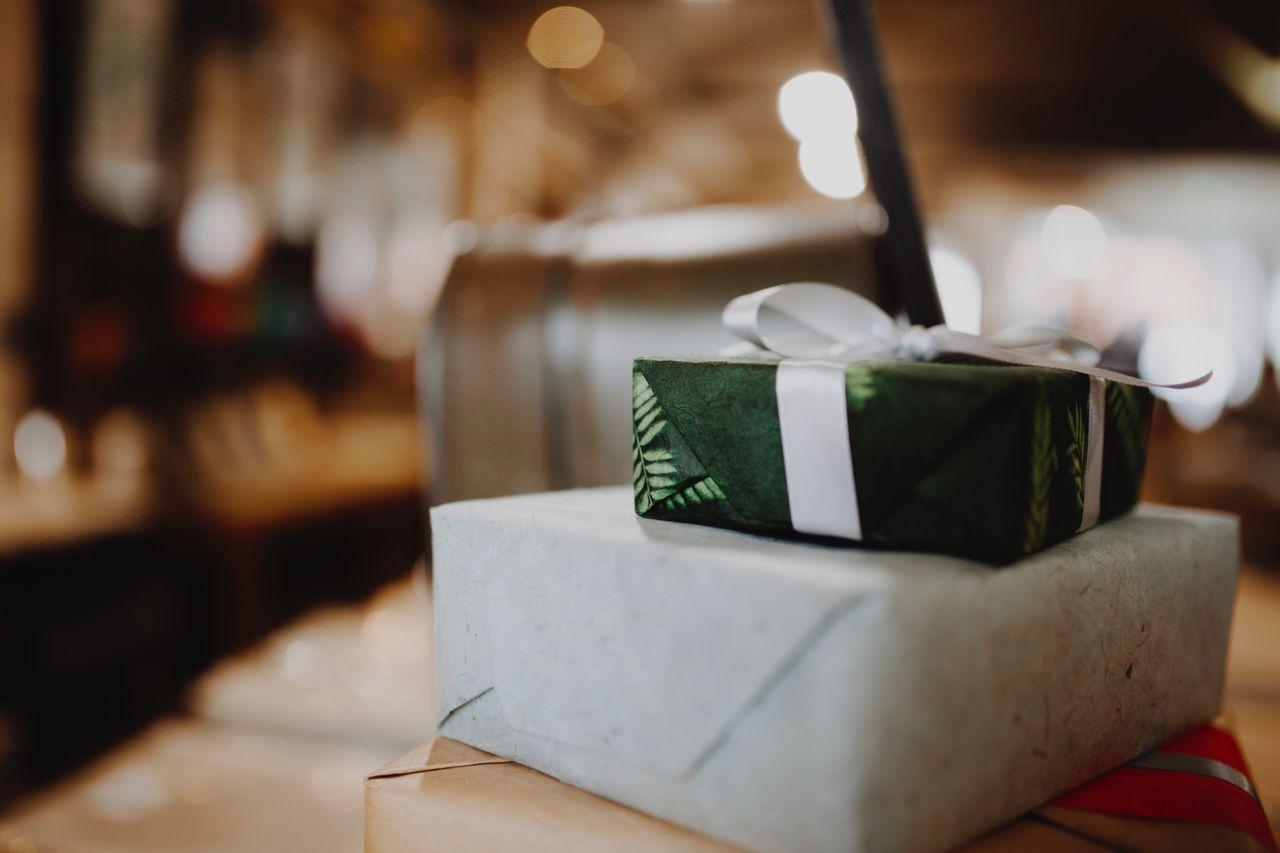 Plastic-free christmas presents