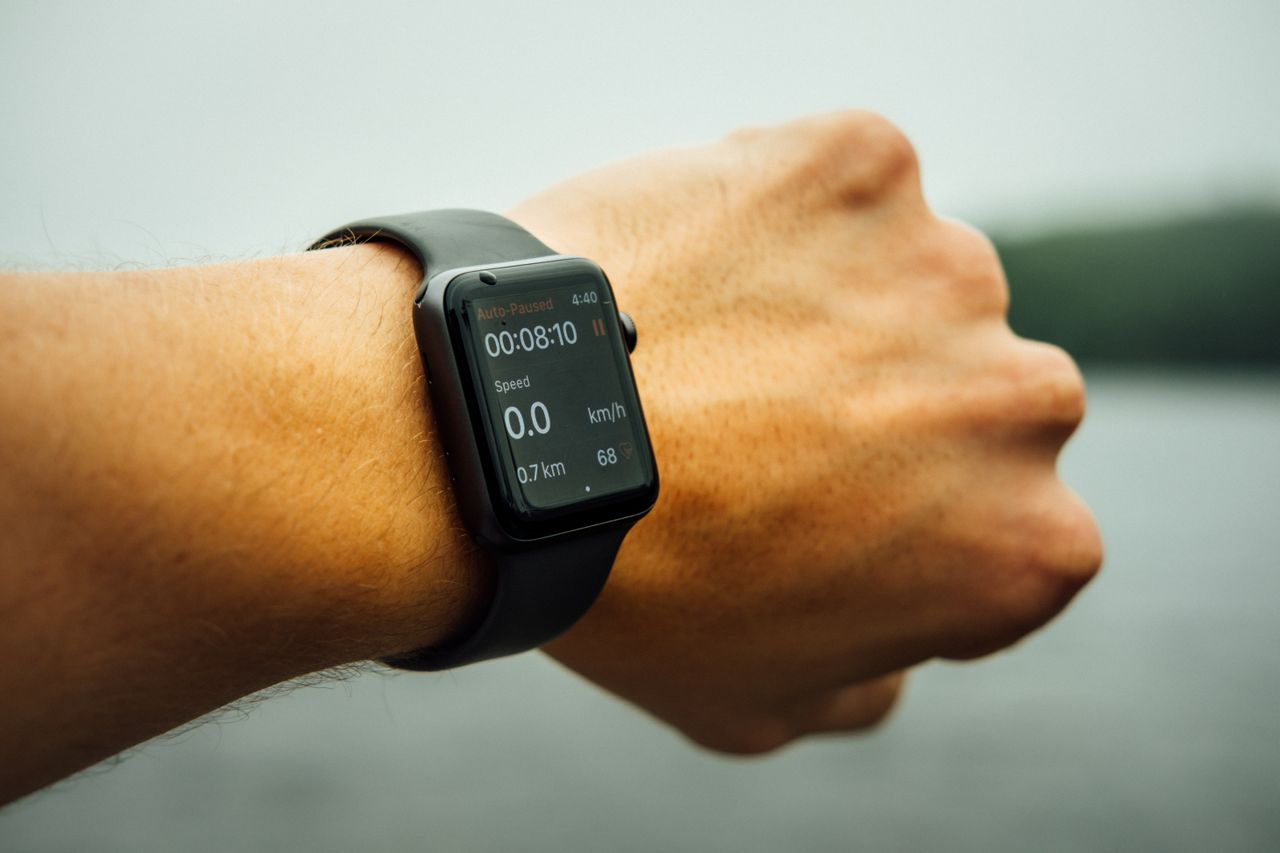 Workout app on wearable